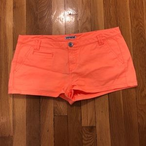 Electric Orange Shorts